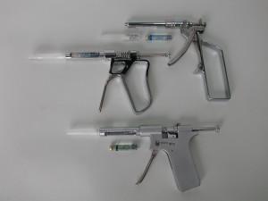 Abb.2 - Pistolenspritzen